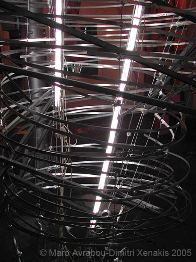 fluorescent bulbs, steel